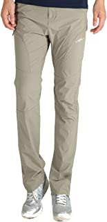 Cool Breathable Waterproof Pants Hiking Pants for Outdoor Sport Men's Summer Pink Quick Dry Pants (Color : Khaki, Size : 5XL)