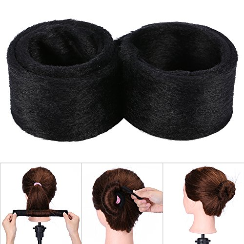 Cheveux Twist Maker, Cheveux Twist Twister Shaper Maker Ancien Été Styler Bande Outil Accessoire Styling(Noir)