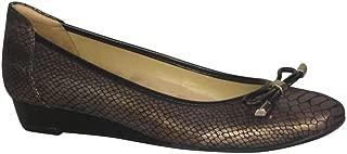 Naturalizer Women's Corin Slip Ons Bronze Snake