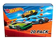 ​ Reward your child—or your inner child—with Hot Wheels cars ​ This pack is trunkloads of fun with 20 Hot Wheels vehicles included. ​ Jump start your collection today ​Collectors and car enthusiasts crave these amazing 1:64 scale vehicles. ​Kids love...