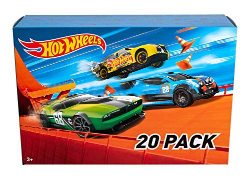Hot Wheels 20 Cars Gift Pack, Styles May...
