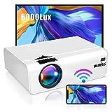 Proiettore WiFi, WiMiUS 5800 Mini Videoproiettore Portatile da Supporto...