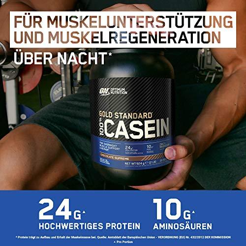 Optimum Nutrition Casein Protein Chocolate Supreme, 1er Pack (1 x 1818 g) - 4