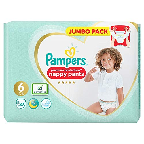 Pampers Premium Protection Pants Größe 6, 37 Windeln