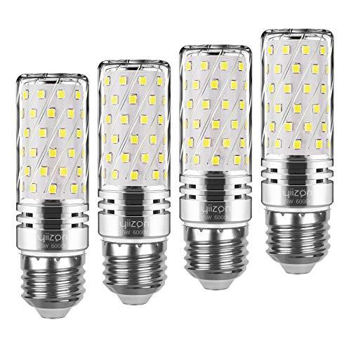 Yiizon 15 Watt (120 Watt Equivalent) 6000 Kelvin LED Corn Light Bulbs