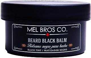 Balsamo Negro para Barba Cubre Canas Matizador Negro Mel