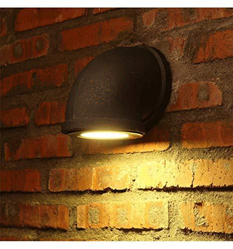 KOSILUM - Applique Murale LED 3W Design Tuyau Couleur Rouille - Athiel - Lumière Blanc Chaud Eclairage Salon Chambre Cuisine Couloir - 3W - 280 lm - LED intégrée - IP20