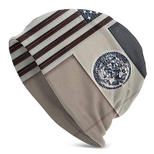 American Flag-Flag of New York City Unisex Knit Hat Soft Stretch Beanies Skull Cap Hedging Cap,Beanie Hat Black