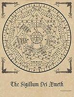 ポスター Sigillum Dei Aemeth [ シジル・ド・アエメト ] 魔術 マジカル 儀式 おまじない マジック 占い ヒーリング プログラミングなど