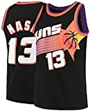 gaopeng Men's Nash Shirts Jerseys 13 Basketball AdultSports Athletics Retro Steve,Black,X-Large