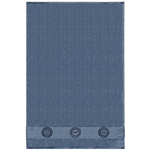Versace 1969Handtuch, Frottee, Blau, 100x 150x 30cm