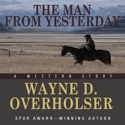 The Man from Yesterday audiobook cover art