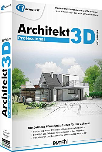 Architekt 3D 20 Professional DVD