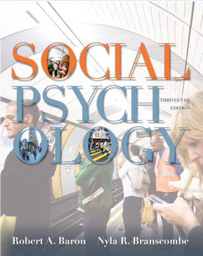Social Psychology (13th Edition)