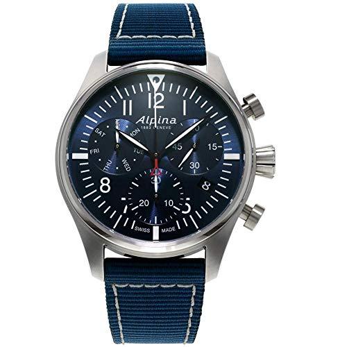 Alpina Geneve Startimer Pilot Quartz Chronograph AL-371NN4S6 Cronografo...