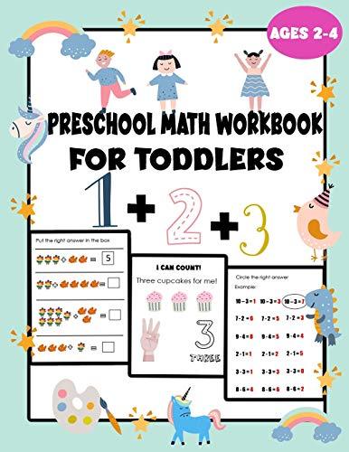 preschool math workbook for toddlers ages 2-4: teach math to kindergarten,...