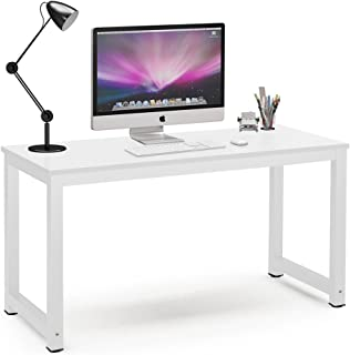 Tribesigns Computer Desk, 55 inch Large Office Desk Computer Table Study Writing Desk for..