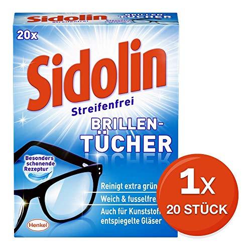 Sidolin Brillenputztücher, 20 Stück