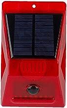 Solar Alarm Sirene Luid Geluid 129dB Strobe Licht met Bewegingssensor Afstandsbediening voor Thuis Boerderij Villa Outdoor...
