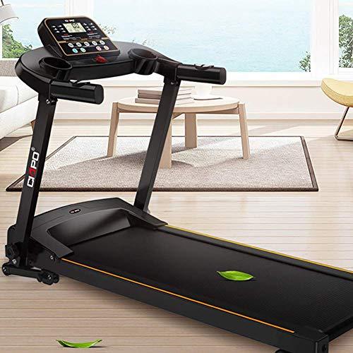 WYZXR Mechanisches Laufband, Heimfitnessgeräte, Herzfrequenzsensor, klappbares Laufband zum Abnehmen zum Abnehmen, Sportgeräte für stumme Laufmaschinen