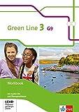 Green Line 3 G9: Workbook mit 2 Audio-CDs und Übungssoftware Klasse 7 (Green Line G9. Ausgabe ab 2015)