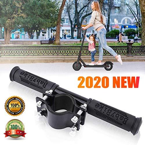 SOULBEST Elektroroller Kinderhandlauf - Elektrisches Skateboard Kinderlenker Verstellbare Kinder Griffstange für Xiaomi Mijia M365 Elektroroller Zubehör (Schwarz)