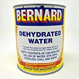 Bernard Food Industries Dehydrated Water 8oz Can. New Formula! Essential Camping & Survival Supply. Funny Gag Gift & Adult Stocking Stuffer for Men & Women.