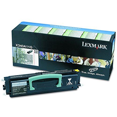 Lexmark Toner für X340 342 Kapazität 2500 Seiten nicht nachfüllbar, schwarz