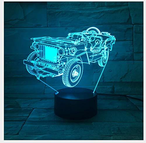 XINGXIAOYU Lampe de Bureau 3D LED Chambre à Coucher Nachtlicht Geschenk der Kinder