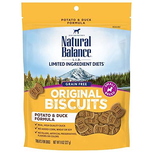 Natural Balance L.I.T Limited Ingredient Treats Dog Duck & Potato Formula 8oz