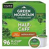 Green Mountain Coffee Roasters Half Caff, Single-Serve Keurig K-Cup Pods, Medium...
