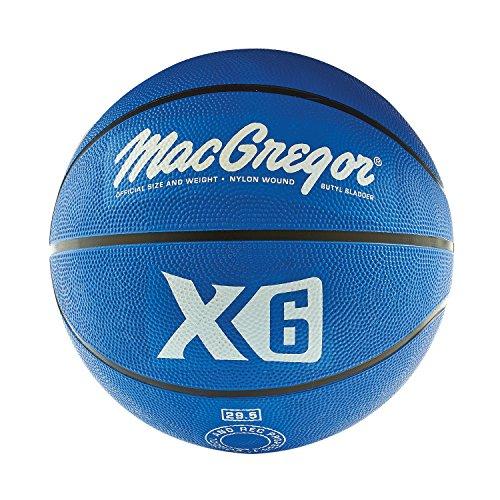 MacGregor Rubber Offical Basketball (Blue)