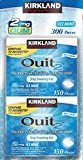 Kirkland Signature Quit Ice Mint Gum 2mg, 300 Pieces
