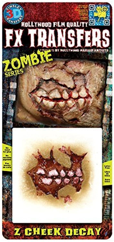 FX Transfers - Zombie Series 3D FX Zombie Cheek Decay Make-Up Kit by FX Transfers - Zombie Series