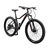 Mongoose Tyax Comp Adult Mountain Bike, 27.5-inch Wheels, Tectonic T2...