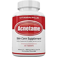 ✅BEST ACNE PILLS FOR WOMEN, MEN, TEENS, AND ADULTS WITH OILY SKIN as it has the Most Mg's Per Pill/Bottle. Clears Your Skin by Decreasing Oil Production, Improving Skin Healing Time, and it's Ability to Regulate your Hormonal Breakouts. These are the...