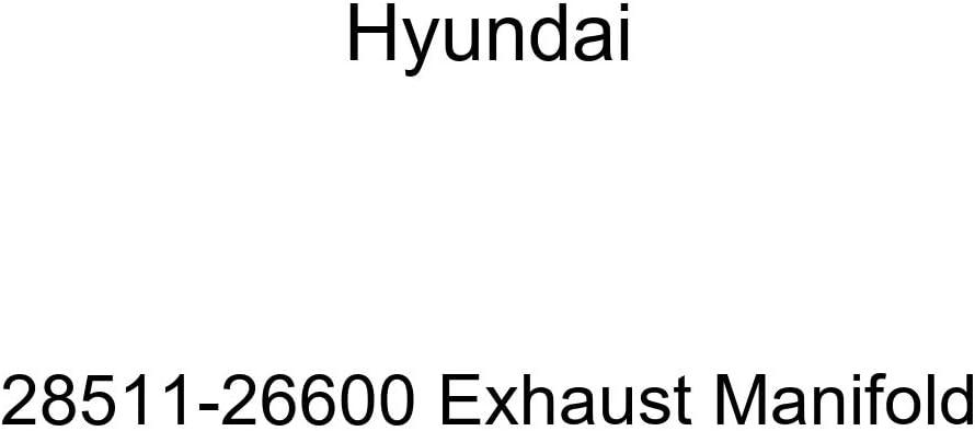 Genuine Hyundai Max 82% OFF 28511-26600 Manifold Exhaust online shopping