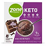 KETO-FRIENDLY SNACK: One serving has 9g-11g net carbs as prepared, is gluten-free, and made with almond flour EASY TO MAKE: Pour a packet of powder into a microwave-safe mug; add 4T heavy whipping cream (not included). Microwave for 60-90 sec; let st...