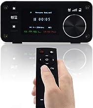 SMSL SA-50 PLUS 50WX2 HIFI Amplifier/DAC/Music Player w/Remote Control,Digital Power Amplifier,TAS5766M, OLED Display, USB...