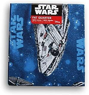 Star Wars Millennium Falcon Fat Quarter (18 x 21)