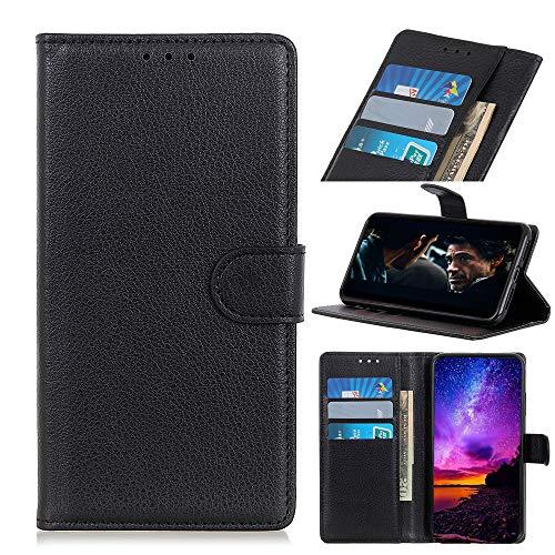 MSOSA Kompatibel mit Handyhülle Hülle Xiaomi Black Shark 2, Wallet Hülle, Handyhülle als Brieftasche, TPU Schutzhülle Handytasche mit Kartenfach Ständer Magnet_schwarz