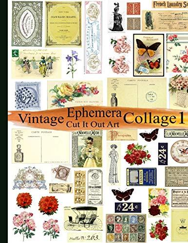 Vintage Ephemera Collage 1: Cut It Out Art
