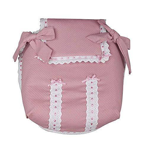 Babyline - Colcha de capazo classic rosa