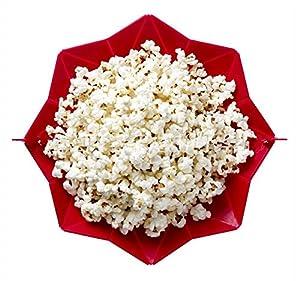 Microonde silicone popcorn macchina pieghevole secchio popper ciotola da cucina cottura di pieghevole secchio di popcorn