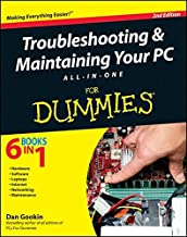 Troubleshooting and Maintaining Your PC All–in–One For Dummies