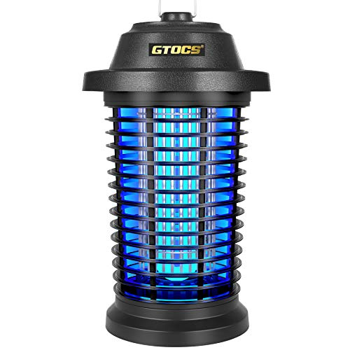 GTOCS Bug Zapper Outdoor Electric, Fly Zapper Mosquito Zapper Electronic Insect Killer