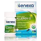 Genexa Allergy-D – 60 Tablets | Certified...