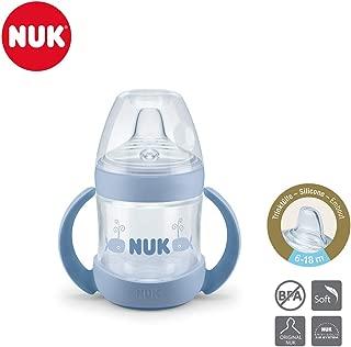 NUK 10255418 Active Cup color verde 300 ml, antigoteo, a partir de 12 meses, sin BPA, 1 unidad dise/ño de dinosaurios Vaso con boquilla de silicona