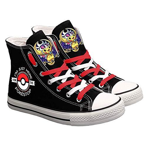 Pokémon Zapatos de Lona Zapatos de Lona Unisex Zapatos Deportivos 3