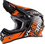 O'NEAL 3 Series Youth Motocross Enduro Kinder MTB Helm Fuel schwarz/orange 2018 Oneal: Größe: S (47-48cm)